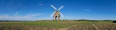 Chesterton Windmill (6) (Happy snappy nature) Tags: chestertonwindmill landscape beautiful bluesky greengrass field nature landmark england canon canon6d canon24105f4