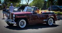 1950 Willys Jeepster Convertible (coconv) Tags: car cars vintage auto automobile vehicles vehicle autos photo photos photograph photographs automobiles antique picture pictures image images collectible old collectors classic blart 1950 willys jeepster convertible roadster 50