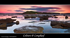 Colours @ Longreef (John_Armytage) Tags: colour sunrise canon movement rocks reef longreef northernbeaches eos7d johnarmytage sigma20x10lens