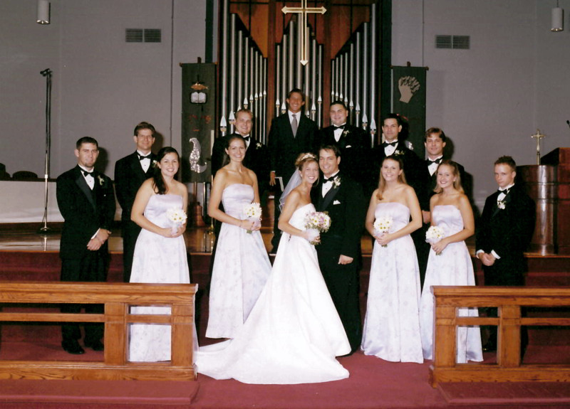 Brian Laura Wedding 2002