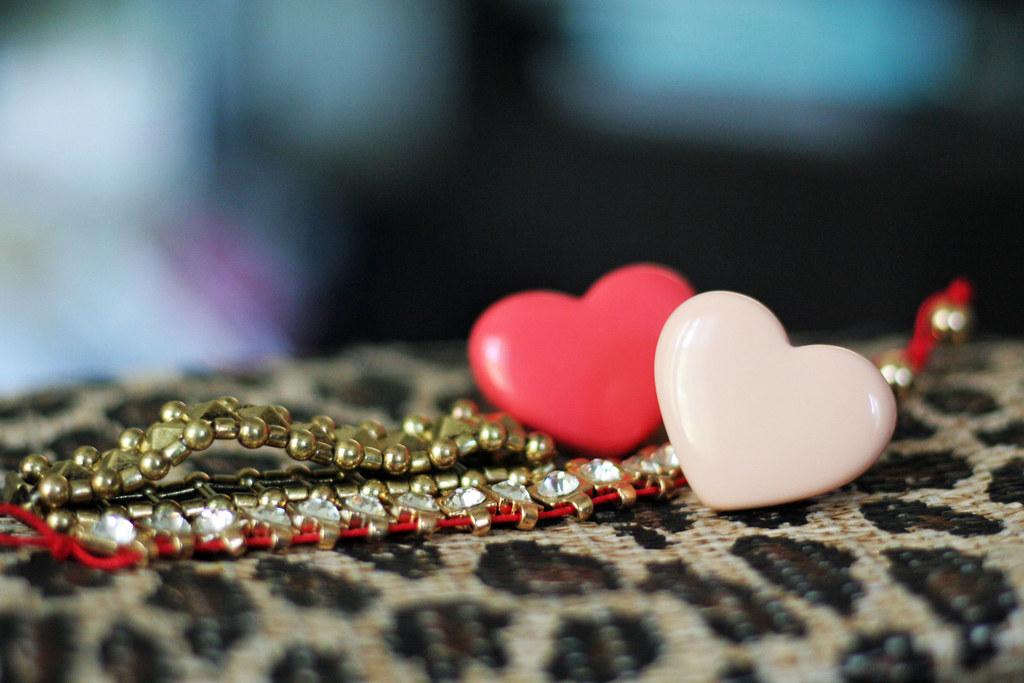 hearts, bling & leopard