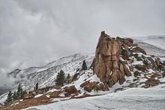 Spring Snow on Pikes Peak (Ken'sKam) Tags: snow nature rockies spring colorado day snowy rockymountains geology pikespeak