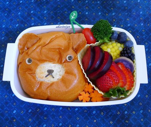 Char Siu Bear Bento by sherimiya ♥