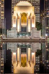 IMG_6009-1 (haynenps3) Tags: city reflection building water night lights memorial war sydney