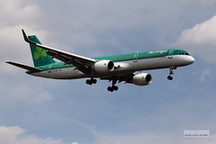 Aer Lingus launches nonstop Dublin to Toronto service (Can Pac Swire) Tags: b irish toronto airport flight international final short airline boeing lester runway registration 757 airliner pearson yyz 757200 752 24r 7572q8 aircontractors cyyz aimg9382 eilbr ei129 arlingus