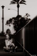 DSC_2375 (JohanWeichPhotography) Tags: bridge white black beach marina children mom harbor kid child newport