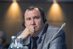 Evgeni Rogachev at the Closed Ministerial Session