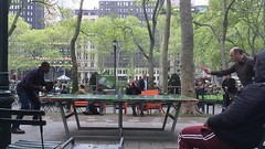 Ping Pong (Bold Willie) Tags: ping pong slow motion bryant park new york city