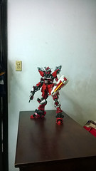 ZGMF-X09A (demon14082001) Tags: lego gundam mobile suit seed moc creation perfect grade robot mecha destiny nn trng justice x09a x10a zgmf