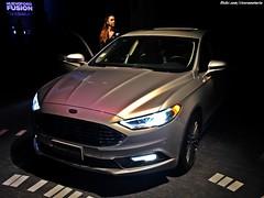 Ford Fusion 2017 | Lanzamiento en Chile