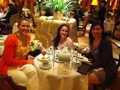 Tea at the Dorchester