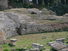 Theater at Ancient Corinth (David R. Crowe) Tags: building history theatre greekhistory greece2011