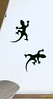 Geckos Wall Sticker Decals Charming Wall and