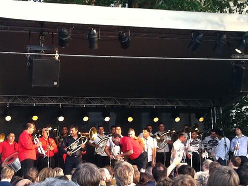 Balkan Brass Battle -  Fanfare Ciocarlia vs. Boban & Marko Markovic Orchestra