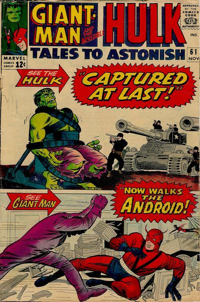 Tales to Astonish 061