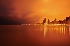 Chi's on Fire...... (Seth Oliver Photographic Art) Tags: chicago buildings illinois nikon midwest nightlights skyscrapers iso400 cities cityscapes lakemichigan lakeshoredrive navypier nightshots pinoy cookcounty chicagoskyline urbanscapes lightpollution 30secondexposure secondcity goldcoast citiesatnight longexposures johnhancocktower chicagoist d90 nightexposures cityofchicago urbanskylines cityofbigshoulders chicagoskylineatnight manualmodeexposure setholiver1 aperturef220 nocturneimages 1024mmtamronuwalens ballheadtripodmountedshot timedelaytriggeredshot
