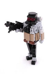 Trooper (Mechanekton) Tags: lego military future figure scifi figurine helghast killzone miniland