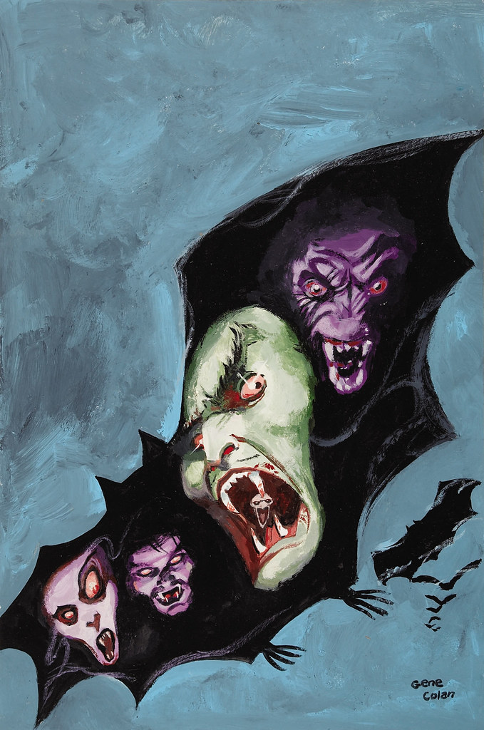 Gene Colan The Tomb of Dracula #2 (Third Series) Cover Painting Original Art (Marvel, 1991)