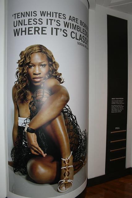 Wimbledon Museum: Serena Williams
