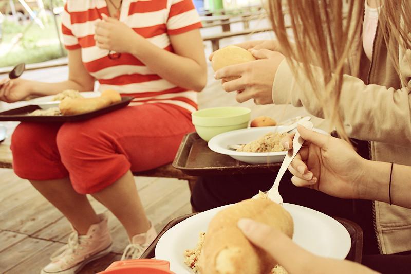 Mat mat mat (känns som man äter hela tiden där, ändå går man ner i vikt?)