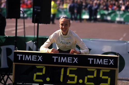 Paula Radcliffe record maraton Londres 2003