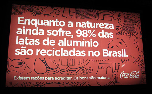 Coca-Cola May 2011 Campain Brazil Newstand by roitberg