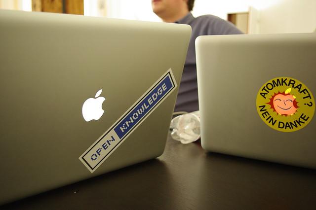 OKFN laptops