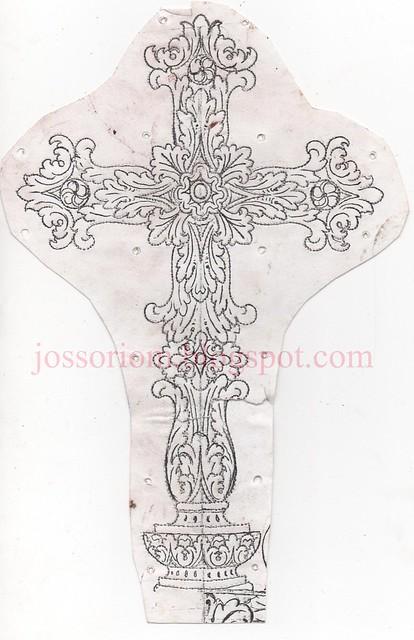Cruz de la Corona de la Virgen del Patrocinio 1997