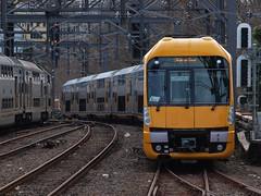 CityRail's New Waratah Train or A set - A3 (Squeakaz) Tags: train suburban nsw passenger waratah milestone revenue cityrail livery aset railcorp