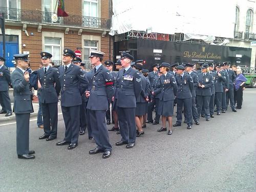 RAF column