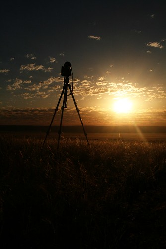 Photographing Sunset by Namibnat