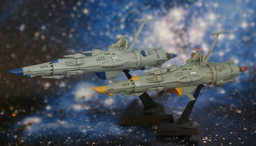 Space Battleship Yamato - EDF Escort Crusier - Completed - 1