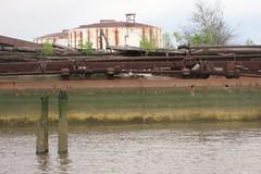 Rothko rust (bk rabblerouser) Tags: newyorkcity abandoned boat rust decay statenisland arthurkill boatgraveyard