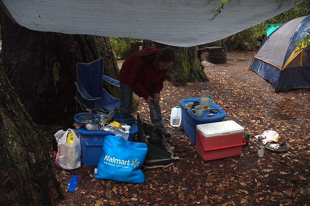 Big Basin Tarp Kitchen