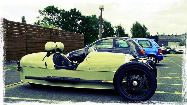 Morgan Three Wheeler at The Morgan Factory