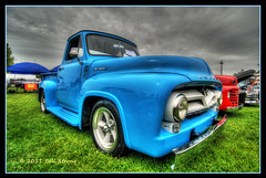 Mercury (Bill Strong) Tags: 1955 truck mercury pickup hdr dunnville photomatix d80 3exp mudcatfestival tokina1116mm dunnvillecruiserscarclub