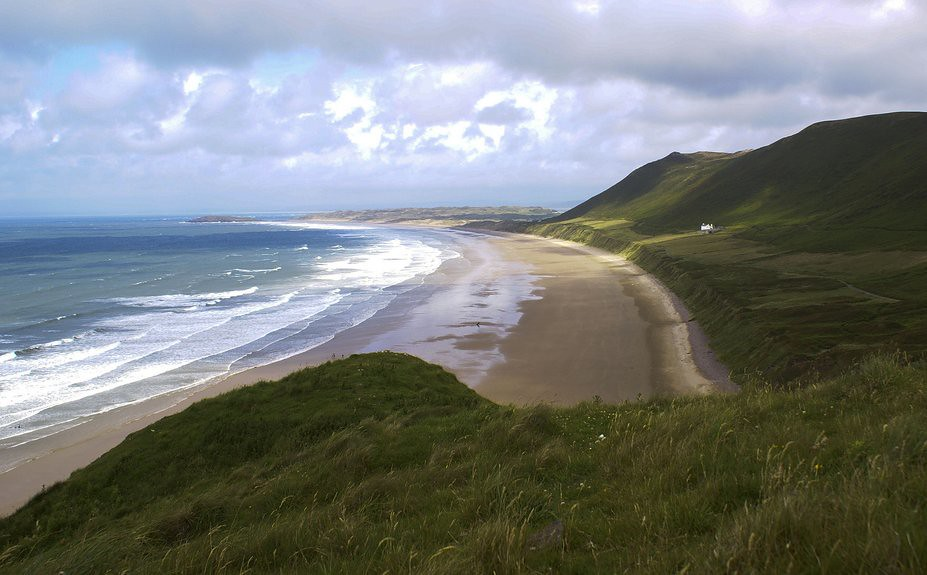Rhossili Downs,Gower Peninsla