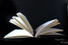 Open Book (Rachel_Ricci) Tags: blackandwhite pen pencil ink canon paper notebook book words pages journal page writer write written canoneos canoneosts
