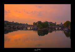Le Pont Neuf HDR ~ Paris ~ France ~ Louvre ~by D.F.N. ('^_^ D.F.N. Damail ^_^') Tags: voyage city morning bridge sunset favorite paris france color art love monument seine architecture canon reflections pose french geotagged photography soleil boat photo europe long flickr gallery photographie photos mark picture award best ponte fave lumiere pont romantic 5d capitale monde bateau iledefrance reflets franais hdr couleur clounds clound francais matin artiste photographe 1635 longue 1635mm favoris photomatix poselongue poseb dfn colorphotoaward damail borderfx 5dmarkii beautyshoots francais wwwdamailfr