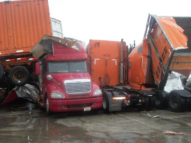 Trailer Pile Up