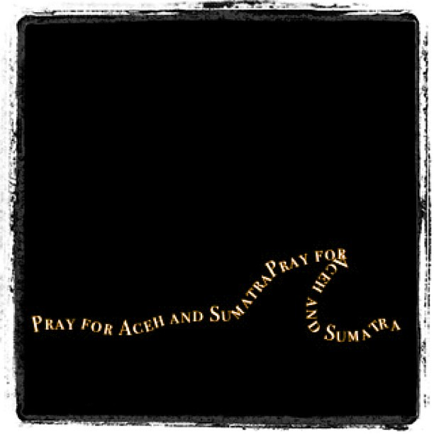 Pray for our friends and families in Aceh and Sumatra. #earthquake #tsunami
