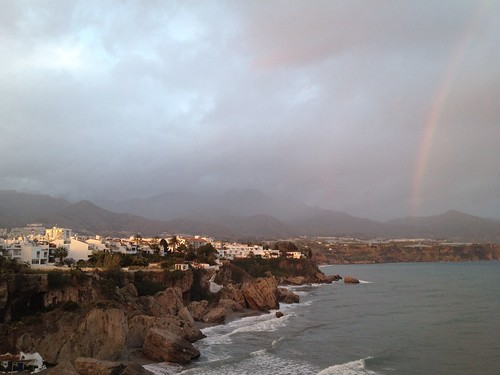 Rainbow over Nerja