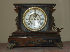 1890's Ansonia LA DUCHESSE mantle clock by Bill & Mark Bell, on Flickr