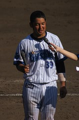 DSC05305 (shi.k) Tags: 横浜ベイスターズ 140601 嶺井博希 イースタンリーグ 平塚球場