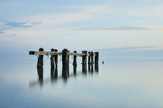 Long exposure of Fifty Point, Grimsby Ontario