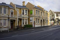 Upper Stuart Street (*Jilltoo) Tags: dunedin otago newzealand street city pavement heritage march16 april16 april17