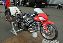DSC_3391 (Fast an' Bulbous) Tags: santa england test car pits bike race drag spring pod nikon track power gimp fast testing turbo strip rwyb motorsport santapod acceleration d300s