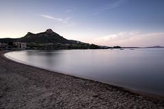 SardegnaBeach-1 (thotoSyl1111) Tags: sardegna beach see sunset golden hour lee filter nikon d750 mystic long exposure big stopper little water mountain beautiful art