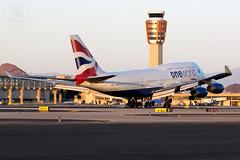 British Airways 747-400 G-CIVL (KoryC757) Tags: britishairways boeing 747400 phoenix skyharbor arizona phx phxspotters gcivl