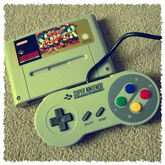 Plans for tonight (whatleydude) Tags: nintendo controller snes cartridge supernintendo ssfii